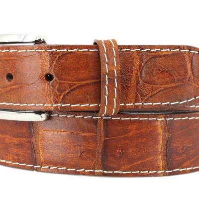 Handmade Genuine Crocodile Golf Belts